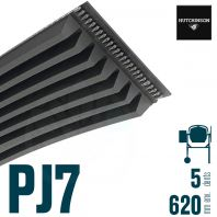 Poly-V Elastique FLEXONIC 620PJ7