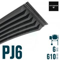Poly-V Standard 610PJ6