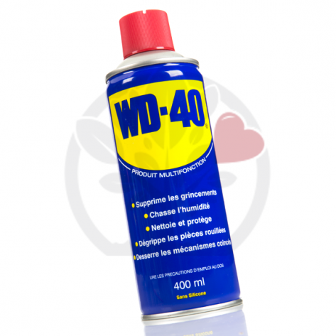 WD 40. 400 ml. Protège, dégrippe, nettoie, lubrifie