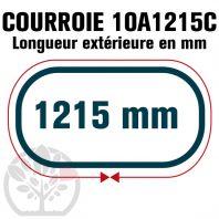 Courroie Trapézoïdale Crantée 10A1215C. 9.5mm x 1215mm
