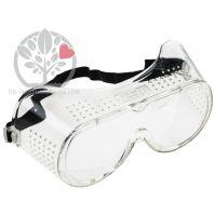 Sur-lunette de protection pour travaux de jardin et meulage