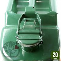 Jerrican métal. 20 litres.