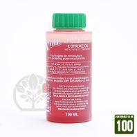 Huile 2 temps, 100 ml, X'Oil. Tondeuse, débroussailleuse, tronçonneuse